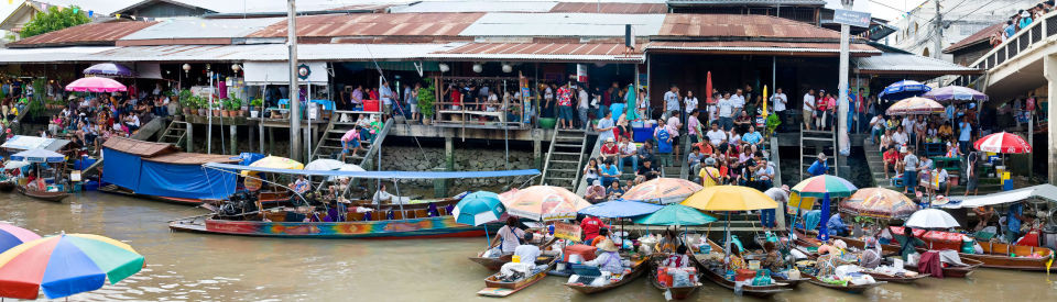 Bangkok Touren – Schwimmender Markt in Amphawa - mit Guide in Deutsch